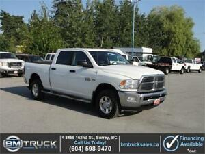 2012 DODGE RAM 2500 SLT CREW CAB SHORT BOX 4X4 *HEMI*