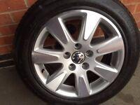 """VW Passat 16"""" Alloy wheels"""