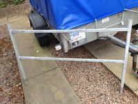 Genuine galvanised Iffor Williams ladder rack