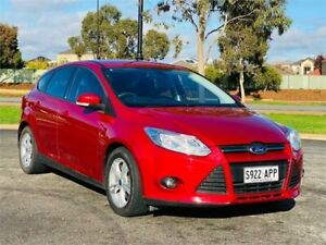 2012 Ford Focus LW Trend PwrShift Red 6 Speed Sports Automatic Dual Clutch Hatchback Mawson Lakes Salisbury Area Preview