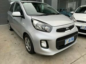 2016 Kia Picanto TA MY17 SI Silver 4 Speed Automatic Hatchback North Hobart Hobart City Preview