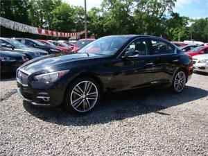 2015 INFINITI Q50 Limited All Wheel Drive Nav Loaded Automatic