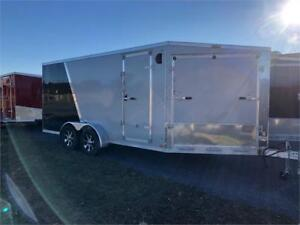 2019 Discovery 7x21' All Aluminum Snow Trailer