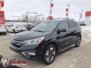 2015 Honda CR-V Touring- 4 Year 100,000KM Warranty!