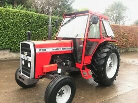 1986 Massey Ferguson 290 Sankey 12 Speed 2wd ***Exceptional***