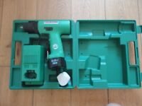 Hitachi Cordless Drill with Hard Case