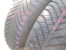 205/55/16 Goodyear Vector 4Season, Winter, M+S x2 A Pair, 6.5mm (168 High Road, Romford, RM6 6LU)