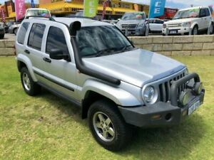 2005 Jeep Cherokee KJ MY2005 Extreme Sport Silver 5 Speed Automatic Wagon Wangara Wanneroo Area Preview