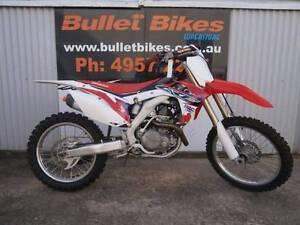 2014 HONDA CRF 450R MOTOCROSSER Mackay Mackay City Preview