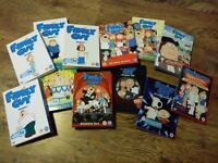 Family Guy Seasons 1-11 and Stewie Movie DVDs