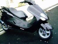Yamaha 125cc scooter