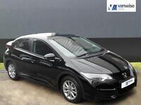 2016 Honda Civic I-VTEC S Petrol black Manual