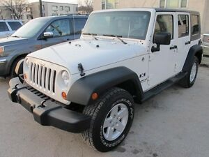 2008 Jeep Wrangler 4x4 UNLIMITED X soft and hard top 4 door 6 cy