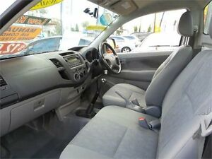 2008 Toyota Hilux GGN15R SR White Manual Cab Chassis Mount Druitt Blacktown Area Preview