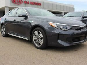 2017 Kia Optima Hybrid EX PREMIUM, SUNROOF, HEATED/COOLED SEATS,