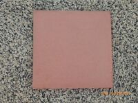 """Red Quarry Tiles Imperial 6"""" X 6"""" X 0.5"""""""
