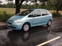 2004 CITROEN XSARA PICASSO - ONE OWNER - LOW MILEAGE - WILL HAVE A NEW M.O.T