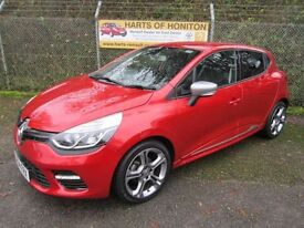 Renault Clio 1.2 GT Line TCE 5DR EDC Auto (flame red) 2014