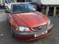 2001 Toyota Avensis, starts and drives well, MOT until March 2017, 90,000 miles, car located in Grav