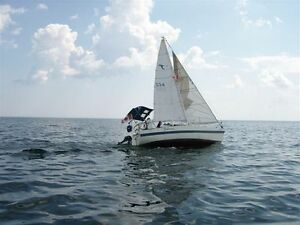 25 Foot Tanzer 7.5 Sailboat - Reduced Price or best offer
