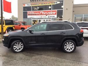 2014 Jeep Cherokee LIMITED 4X4|LEATHER|NAVIGATION|SUNROOF