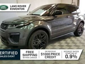 2016 Land Rover Range Rover Evoque HSE DYNAMIC Black Pack - CPO