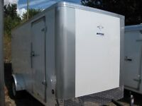 6X12 Southland Enclosed Trailer