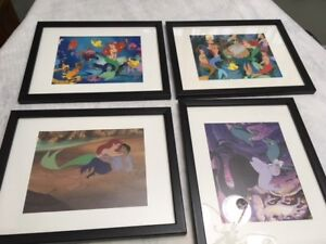 Disney Little Mermaid 4 Picture Set