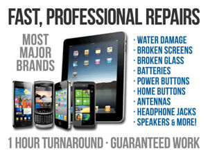 ALL IPHONES - SMART PHONES - ANDROIDS -  IPADS  REPAIR SERVICE