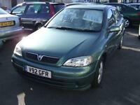 1999 VAUXHALL ASTRA 1.6i 16V Club 5 Door From GBP695 + Retail Package
