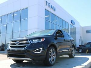 2015 Ford Edge Titanium, 2.0L Ecoboost, 302A, Roof, Leather, Nav