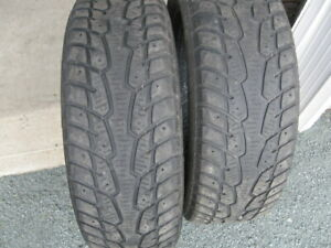 GREAT PAIR OF 215/60R16 SNOW TIRES $40 FOR BOTH