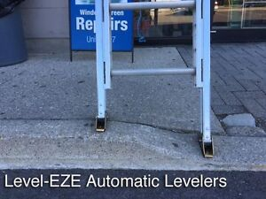 NEW Automatic Ladder Levellers - Stay safe!