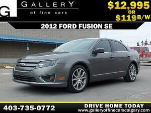 2012 Ford Fusion SE $119 bi-weekly APPLY TODAY DRIVE TODAY