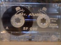 MR AUDIO SF 90 CASSETTE TAPES IN PRISTINE CONDITION. *THIS WEEK ONLY. LIMITED UNBEATABLE OFFER!*