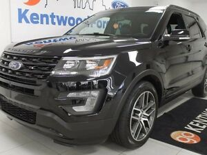 2016 Ford Explorer Sport 4WD Ecoboost. LEATHER, NAV, DUAL SUNROO
