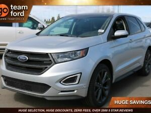 2018 Ford Edge SPORT, 401A, AWD, SYNC3, NAV, SUEDE, HEATED SEATS