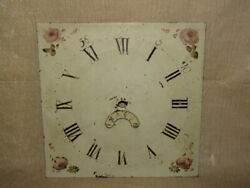 Antique Grandfather Clock Dial