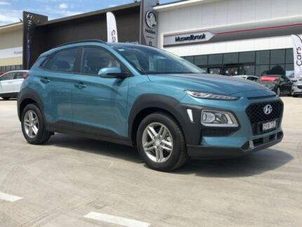 2017 Hyundai Kona OS MY18 Active D-CT AWD Blue 7 Speed Sports Automatic Dual Clutch Wagon Muswellbrook Muswellbrook Area Preview
