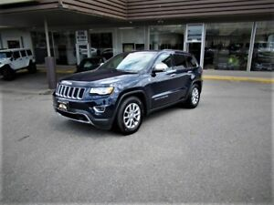 2016 Jeep Grand Cherokee LIMITED WITH ADJUSTABLE AIR SUSPENSION