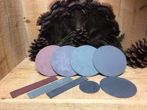 Red- Green- Purple- Black- Premium Friction Turkey Call Slates-Glass-Crystal
