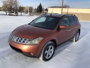 2003 Nissan Murano SL AWD*** ACCIDENT FREE LOCAL ALBERTA SUV***