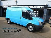 2010 Ford Transit T330 2.2TDCi 115ps MWB Medium Roof E/Pack Roof Rack Diesel blu