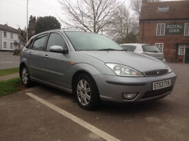 2004 Ford Focus 2.0 Ghia Automatic