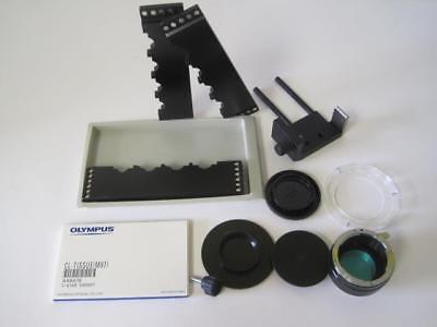 Olympus Camera Parts Lot Microscope Rare Cl-tissue M97 Ax6476 C-0100 03000
