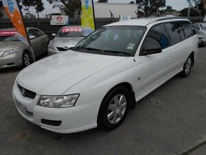 2006 Holden Commodore VZ MY06 Executive White 4 Speed Automatic Wagon Maidstone Maribyrnong Area Preview
