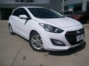 2014 Hyundai i30 GD2 MY14 Trophy White 6 Speed Sports Automatic Hatchback Ravenhall Melton Area Preview