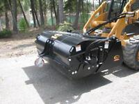 Skid Steer Bucket Sweepers