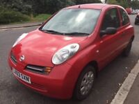 NISSAN MICRA 2003 PETROL 1.2 RED AUTOMATIC CAR FOR SALE!!!