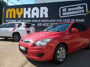 2010 Hyundai i30 FD MY11 SX Red 5 Speed Manual Hatchback Islington Newcastle Area Preview